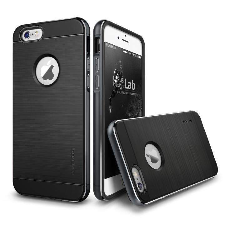 【iPhone6s/6ケース】VERUS IRON SHIELD NEO for iPhone6/6s (Titanium)_0
