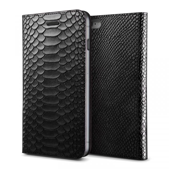 [新iPhone記念特価]VERUS PYTHON diary for iPhone6/6s (Black)
