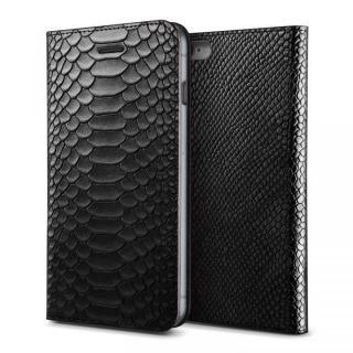 [2018バレンタイン特価]VERUS PYTHON diary for iPhone6 Plus/6s Plus (Black)