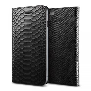 [8月特価]VERUS PYTHON diary for iPhone6 Plus/6s Plus (Black)