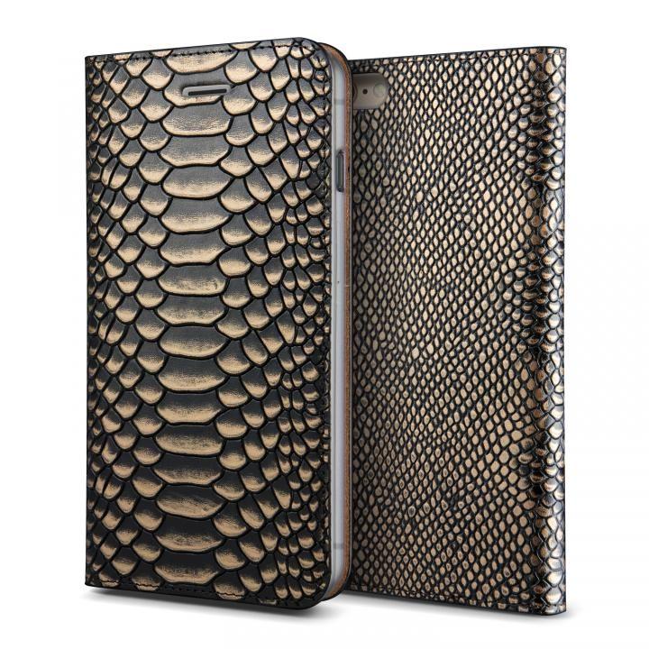 [新iPhone記念特価]VERUS PYTHON diary for iPhone6 Plus/6s Plus (Gold)