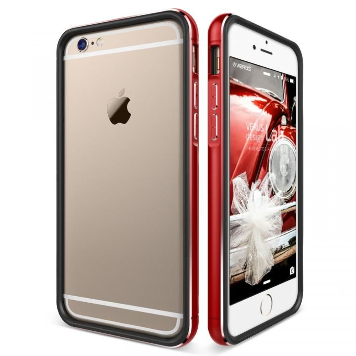 [新iPhone記念特価]VERUS IRON Bumper for iPhone6 Plus/6s Plus (Kiss Red)