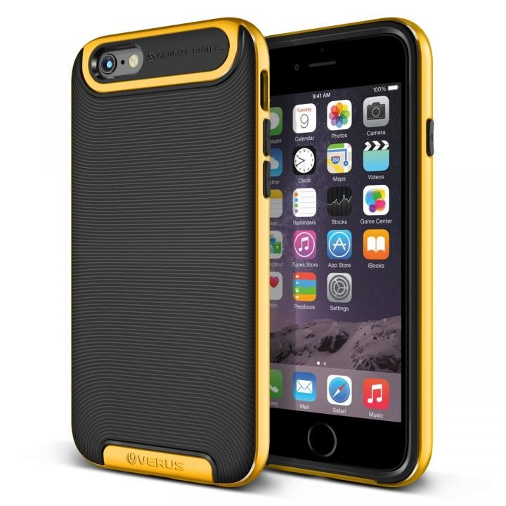 【iPhone6s/6ケース】VERUS Crucial Bumper for iPhone6 (Special Yellow)_0