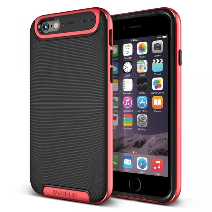 [新iPhone記念特価]VERUS Crucial Bumper for iPhone6 (Crimson Red)