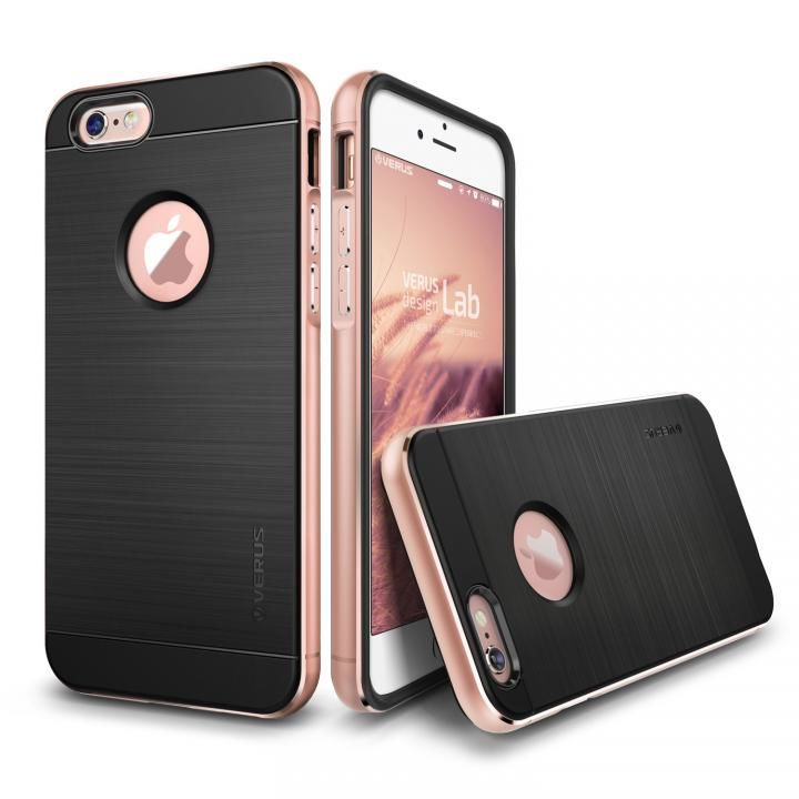 【iPhone6s/6ケース】VERUS IRON SHIELD NEO for iPhone6/6s (Rose Gold)_0