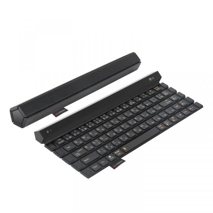 5段キー&かな対応の新型ロール式キーボード LG Rolly Keyboard 2_0