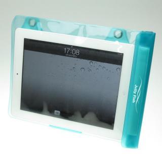 タブレットPC用防滴バッグJelly Fish XL Light ブルー