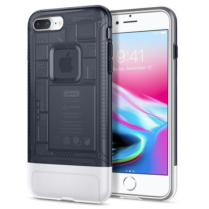 【iPhone8 Plus/7 Plusケース】Spigen Classic C1 グラファイト iPhone 8 Plus/7 Plus_0