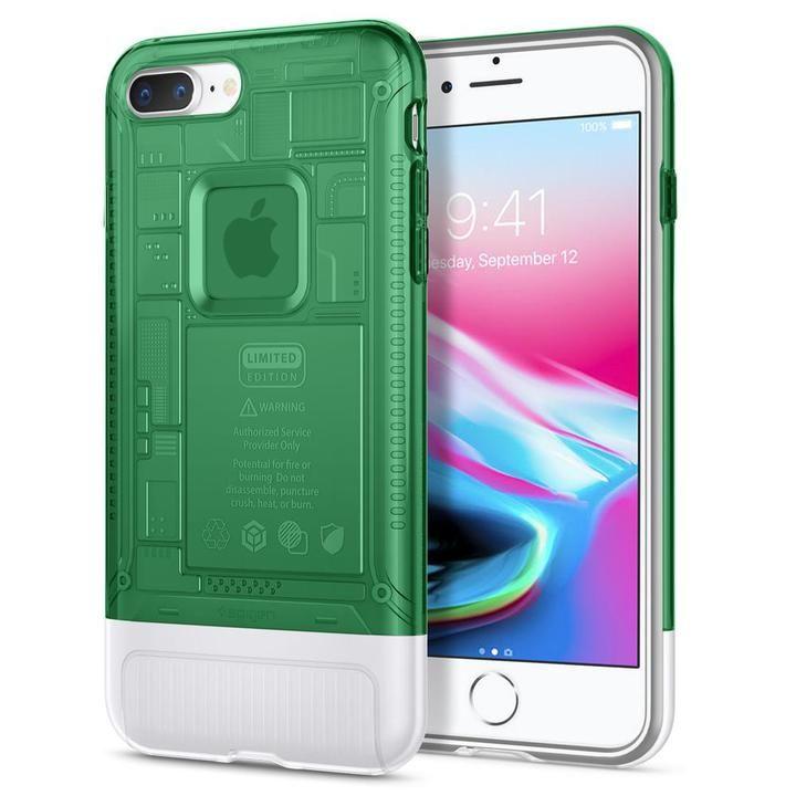 【iPhone8 Plus/7 Plusケース】Spigen Classic C1 セージ iPhone 8 Plus/7 Plus_0
