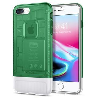 【iPhone8 Plus/7 Plusケース】Spigen Classic C1 セージ iPhone 8 Plus/7 Plus
