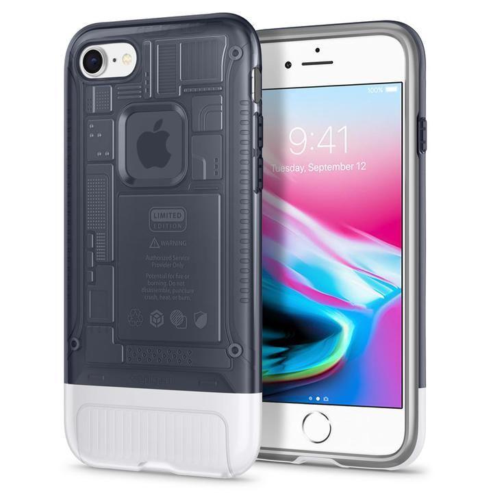 iPhone8/7 ケース Spigen Classic C1 グラファイト iPhone 8/7_0