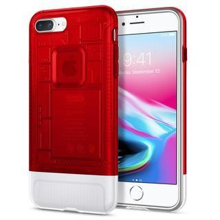 【iPhone8 Plus/7 Plusケース】Spigen Classic C1 ルビー iPhone 8 Plus/7 Plus