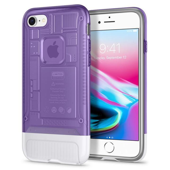 iPhone8/7 ケース Spigen Classic C1 グレープ iPhone 8/7_0