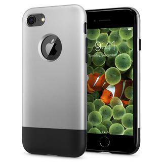 iPhone8/7 ケース Spigen Classic One 背面ケース Aluminum グレイ iPhone 8/7