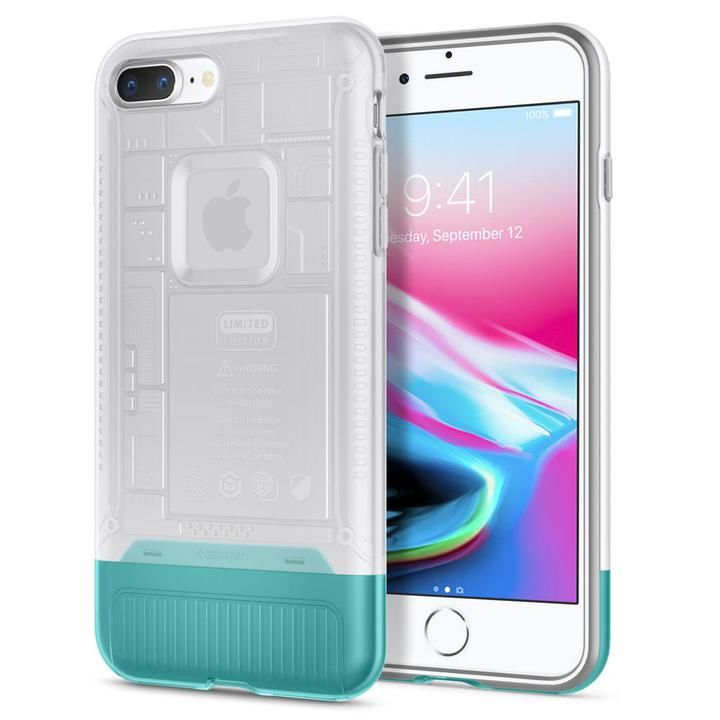 【iPhone8 Plus/7 Plusケース】Spigen Classic C1 スノー iPhone 8 Plus/7 Plus_0