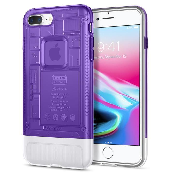 【iPhone8 Plus/7 Plusケース】Spigen Classic C1 グレープ iPhone 8 Plus/7 Plus_0