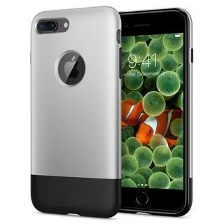 【iPhone8 Plus/7 Plusケース】Spigen Classic One 背面ケース Aluminum グレイ iPhone 8 Plus/7 Plus