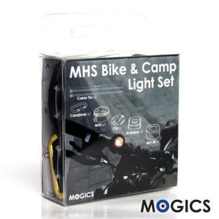 キャンドルのようなライト MOGICS 自転車マウント付1台