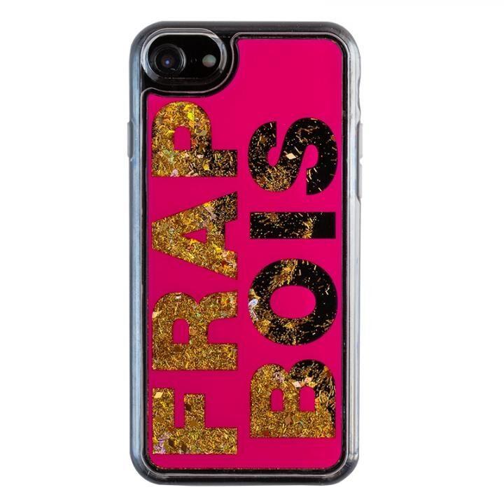 iPhone8/7/6s/6 ケース FRAPBOIS FB GL LOGO グリッターケース PNK iPhone 8/7/6s/6【10月下旬】_0