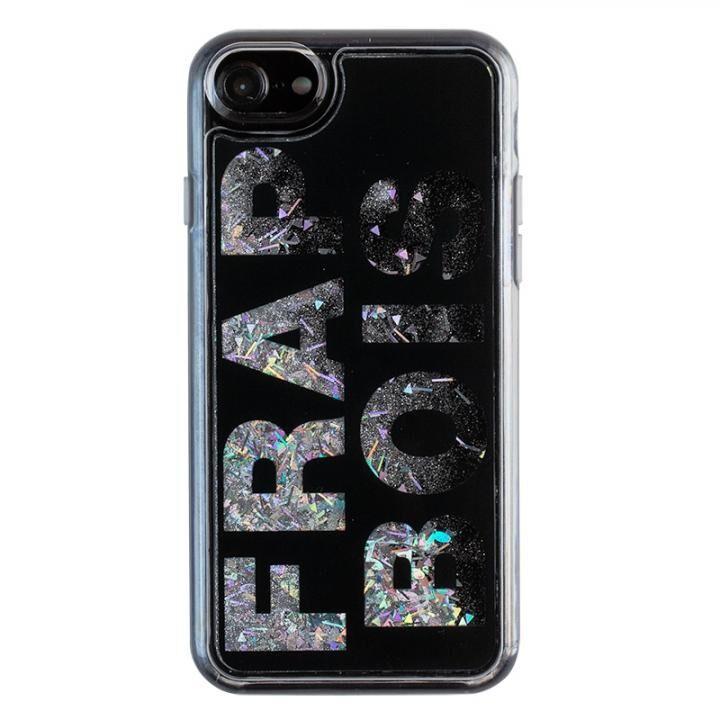 iPhone8/7/6s/6 ケース FRAPBOIS FB GL LOGO グリッターケース BLK iPhone 8/7/6s/6【10月下旬】_0