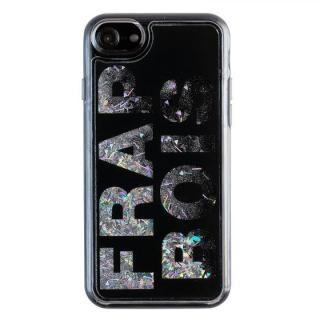 iPhone8/7/6s/6 ケース FRAPBOIS FB GL LOGO グリッターケース BLK iPhone 8/7/6s/6