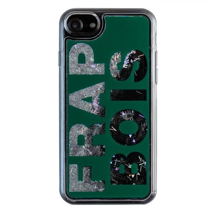 iPhone8/7/6s/6 ケース FRAPBOIS FB GL LOGO グリッターケース GRN iPhone 8/7/6s/6_0