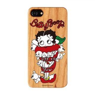 iPhone8/7/6s/6 ケース yanagida masami × BETTYBOOP ウッドケース モギタテボイスがはにかむゴキゲンベティ iPhone 8/7/6s/6【10月下旬】