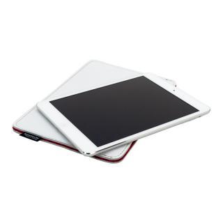 [夏フェス特価]職人が作るレザースリーブ for iPad mini  ホワイト別注