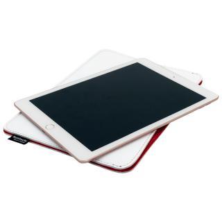 [学園祭特価]職人が作るレザースリーブ for 9.7インチiPad Pro, iPad Air2 ホワイト別注