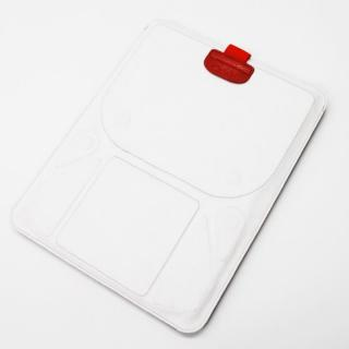 スタンド機能付きスリーブケース deff Color Pelican ホワイト&グレイ iPadケース