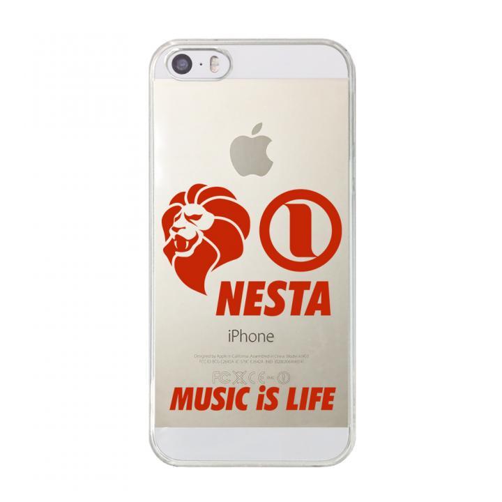 iPhone SE/5s/5 ケース CollaBorn NESTA BRAND コラボクリアケース NESTA_03_CL iPhone SE/5s/5ケース_0