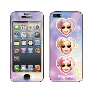Gizmobies FIG&VIPER FANCY BARBIE iPhone SE/5s/5 スキンシール