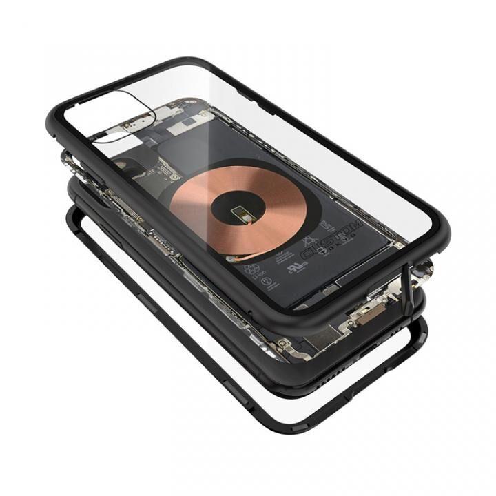 iPhone 11 Pro ケース Transparent Alluminio 2020 ブラック ゴリラガラス+アルミバンパー iPhone 11 Pro_0