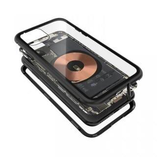 iPhone 11 Pro ケース Transparent Alluminio 2020 ブラック ゴリラガラス+アルミバンパー iPhone 11 Pro【4月下旬】