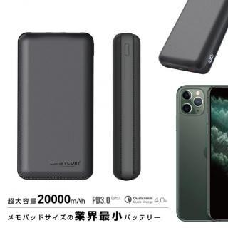 [先行発売]SMARTCOBY 大容量 20000mAh モバイルバッテリー 18W PD3.0 QC3.0 急速充電 世界最小・最軽量【8月下旬】