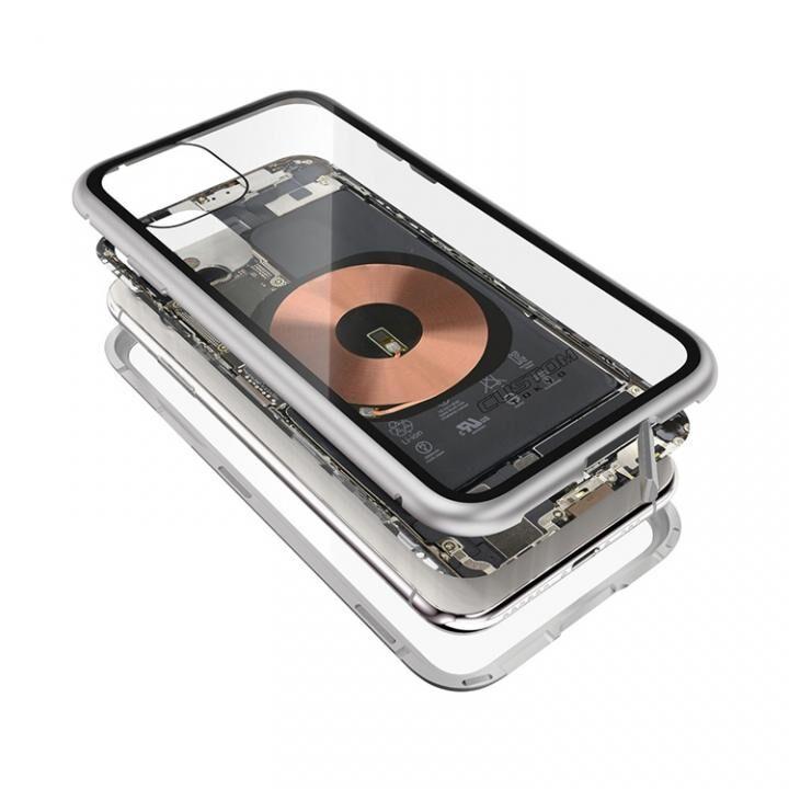 iPhone 11 Pro ケース Transparent Alluminio 2020 シルバー ゴリラガラス+アルミバンパー iPhone 11 Pro_0