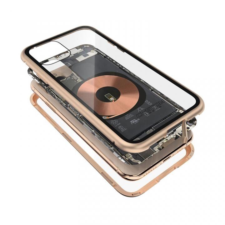 iPhone 11 Pro ケース Transparent Alluminio 2020 ゴールド ゴリラガラス+アルミバンパー iPhone 11 Pro_0