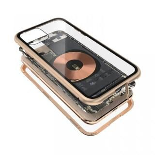 iPhone 11 Pro ケース Transparent Alluminio 2020 ゴールド ゴリラガラス+アルミバンパー iPhone 11 Pro