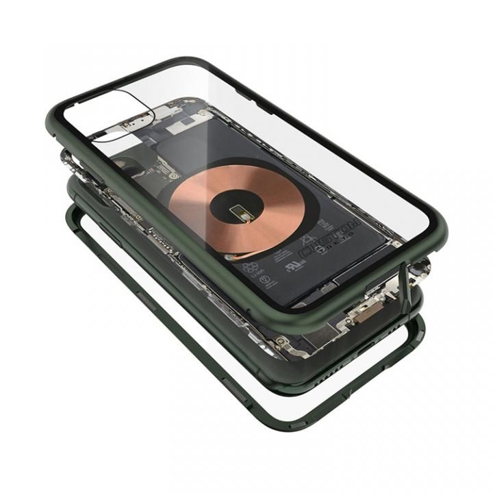 iPhone 11 Pro ケース Transparent Alluminio 2020 グリーン ゴリラガラス+アルミバンパー iPhone 11 Pro_0