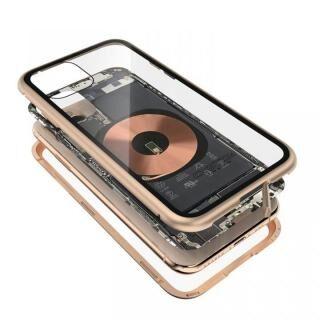 iPhone 11 Pro Max ケース Transparent Alluminio 2020 ゴールド ゴリラガラス+アルミバンパー iPhone 11 Pro Max
