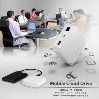 [10000mAh]3G WiFiモバイルルーター機能付き モバイルバッテリー NEO W1_5