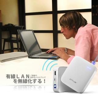 [10000mAh]3G WiFiモバイルルーター機能付き モバイルバッテリー NEO W1_6