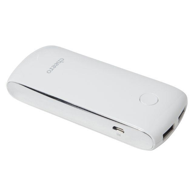 [5200mAh]cheero Grip3 モバイルバッテリー iPad対応2.1Aポート搭載