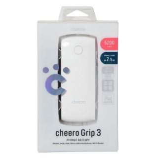 [5200mAh]cheero Grip3 モバイルバッテリー iPad対応2.1Aポート搭載_3