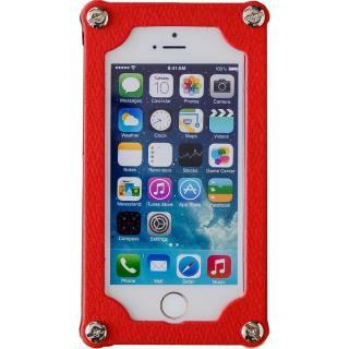 【iPhone SE/5s/5ケース】「紙」のケース 紙のミルフィーユ 茜色 iPhone 5s/5ケース