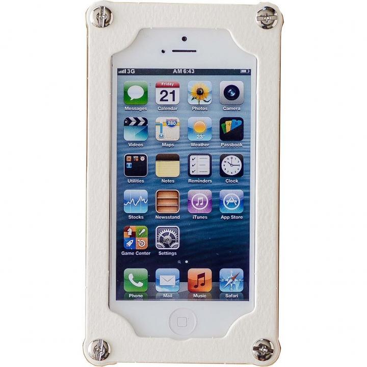 iPhone SE/5s/5 ケース 「紙」のケース 紙のミルフィーユ 乳白 iPhone 5s/5ケース_0