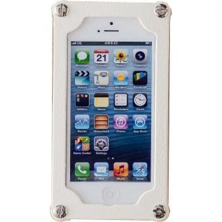 「紙」のケース 紙のミルフィーユ 乳白 iPhone 5s/5ケース