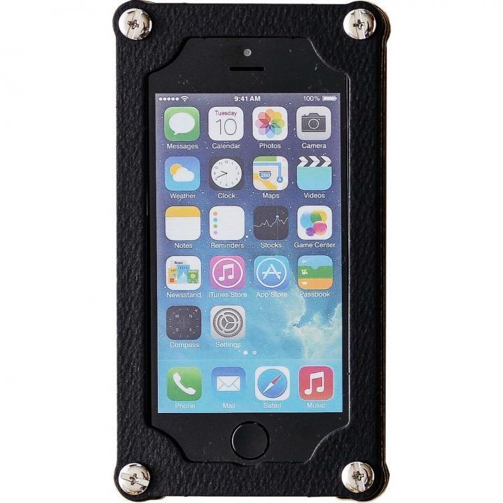 【iPhone SE/5s/5ケース】「紙」のケース 紙のミルフィーユ 漆黒 iPhone 5s/5ケース_0