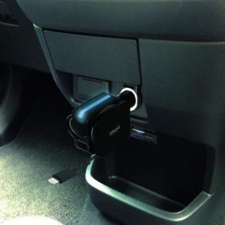idegia iPhoneカーチャージDC ブラック