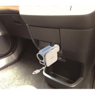 idegia iPhoneカーチャージDC ホワイト